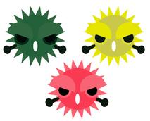 ウイルスのイメージ
